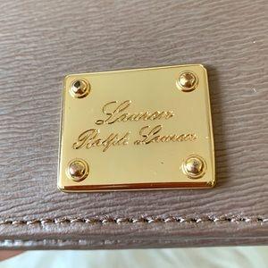 Ralph Lauren Bags - Ralph Lauren Textured Leather Mini BiFold Wallet